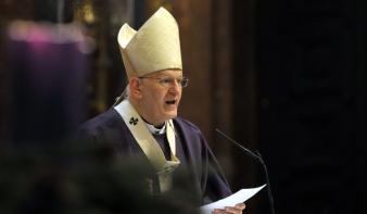 Bukarestben mutatott be magyar nyelvű szentmisét Erdő Péter bíboros