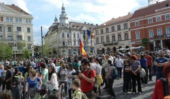Országszerte tüntettek az erdők védelmében a környezetvédők –  VIDEÓ