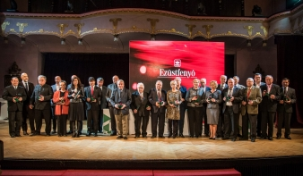Ezüstfenyő-díjban részesült Dávid Lajos
