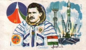 35 éve tartózkodott magyar űrhajós először az éterben