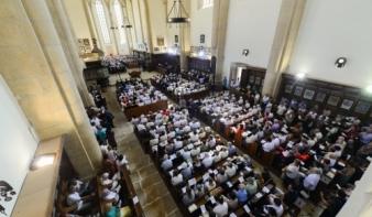 Újjászületett a kolozsvári Farkas utcai református templom