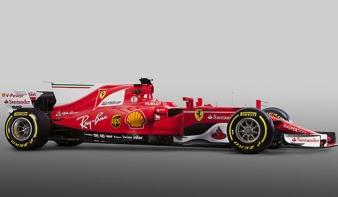 A Ferrari bemutatta 2017-es F1-es autóját - VIDEÓ