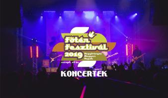 FF2019: Koncertek a Főtér Fesztivál 2019 - Nagybányai Magyar Napokon