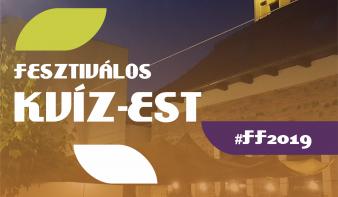 FF2019: Fesztiválos kvíz-est