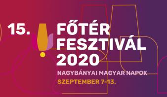 A Főtér Fesztivál 2020 - Nagybányai Magyar Napok szeptember 7-13 között lesz megtartva