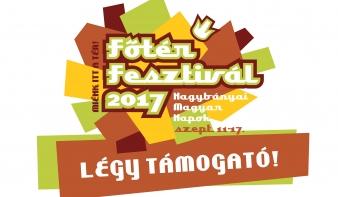 Főtér Fesztivál 2017 - LÉGY TÁMOGATÓ!