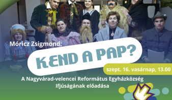 FF2018: Móricz Zsigmond: Kend a pap?