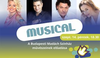 FF2018: MUSICAL - a budapesti Madách Színház művészeinek előadása