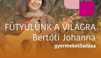 FF2020: Bertóti Johanna gyermekelőadása