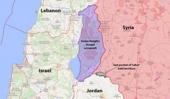 Trump elismerte Izrael szuverenitását a Golan-fennsík felett