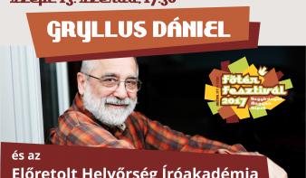 GRYLLUS DÁNIEL a Főtér Fesztiválon