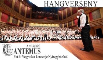 A világhírű Cantemus énekkar hangversenye Nagybányán
