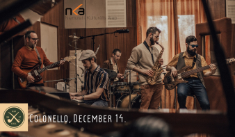 Haraszti Ádám Projekt Jazz koncert a Colonelloban