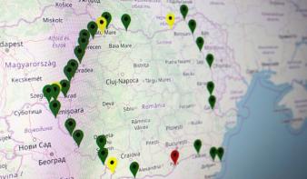 Ideiglenesen a magyar–román határszakaszon is lezárnak több átkelőhelyet