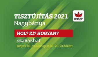 Tisztújítás 2021 - Szavazással kapcsolatos tudnivalók Nagybányán