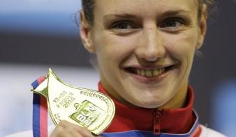 Már hétszeres Európa-bajnok Hosszú Katinka, a Vaslady