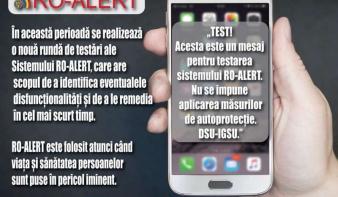 IGSU: a RO-Alert rendszer tesztüzenetekkel való ellenőrzése kötelező
