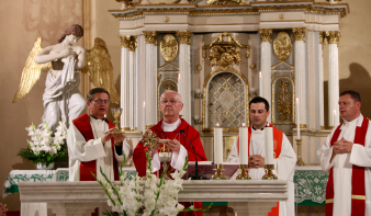 Az Egri Főegyházmegye érsekének és káplánjainak szatmári egyházmegyei látogatása