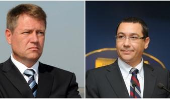 Ponta és Johannis csap össze a második fordulóban