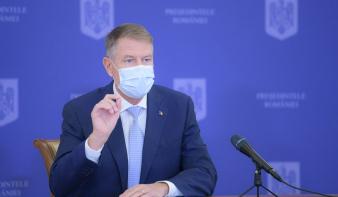 Iohannis: csökkenő tendenciát mutat az új koronavírusos esetek száma, nincs szükség országos karanténra