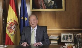 Lemondott a spanyol király
