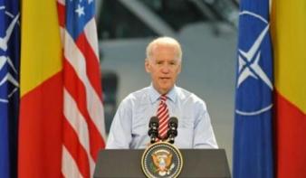 Joe Biden amerikai alelnök megkezdte kétnapos romániai látogatását