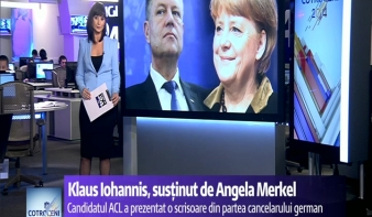 Johannisnak szurkol Angela Merkel