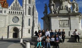 Budapesti élmények,  a Nicolae Iorga Általános Iskola csapatának jutamomkirándulása