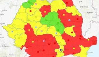 Országos részeredmények, 95 százalékos feldolgozottságnál: közel 9 százalékon Dan Tanasă pártja