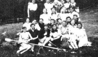 Kirándulás a felsõbányai Bódi-tóhoz 1947-ben