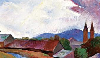Nagybányai hagyományok és modernizmus egy festményen