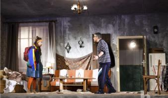 A szatmári színház harmadik nagybányai előadása