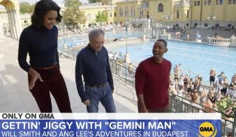 Will Smith ötmillió amerikainak mutatta meg, milyen menő hely a Széchenyi fürdő