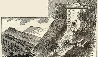 A kővári uradalom híres vára