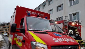 Eldobott cigaretta okozott kórháztüzet Kapnikbányán