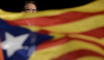 Elnökükért vonultak utcára a katalánok