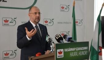 Kelemen Hunor: új alkotmány kell az országnak