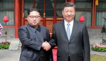 Kim Dzsongun hat év után előlépett Észak-Koreából