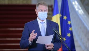 Korlátozó intézkedések bevezetését lengette be Klaus Iohannis államfő