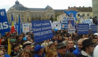 Kolozsváron a voksok közel háromnegyedét, Aradon kétharmadát vitte Johannis