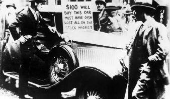 Kilencven éve kezdődött a nagy gazdasági válság