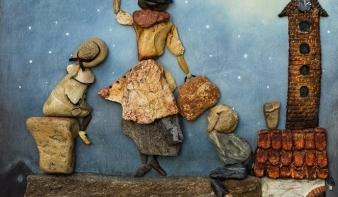 A kő lelke - Papp Tímea debreceni kavicsművész kiállítása