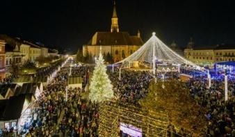 Európa legszebb adventi vásáraival versenyez a kolozsvári