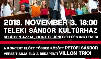 NEMADOMFEL, sérült énekesek koncertje Koltón