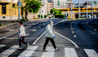 Május harmadikára érhet a csúcsra a járvány Magyarországon