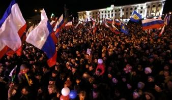 Több mint kilencven százalék mondott igent Oroszországra