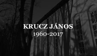 KRUCZ JÁNOS (1960-2017)