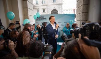 Fölényes győzelmet aratott az Osztrák Néppárt az előre hozott választáson