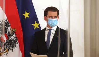 Újabb szigorítások Ausztriában a koronavírus új, fertőzőbb mutációi miatt