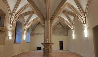 Megújult a kolozsvári ferences kolostor refektóriuma